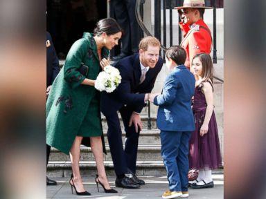 Duchess Meghan wears high heels far into pregnancy. Dangerous or more power to her?