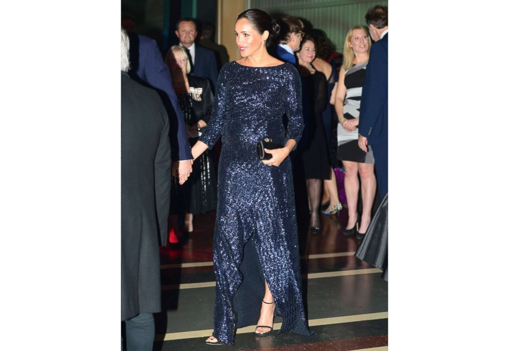PHOTO: Meghan, Duchess of Sussex attends the Cirque du Soleil Premiere Of TOTEM at Royal Albert Hall on Jan. 16, 2019, in London.