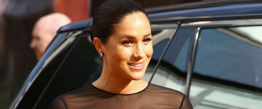 PHOTO: Meghan, Duchess of Sussex, poses for photographers upon arrival at the Lion King European premiere in central London, July 14, 2019.