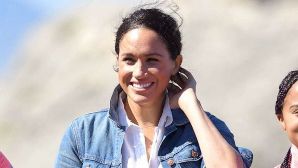 Body positive influencer recreates Duchess Meghan's Africa tour looks
