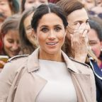 "Meghan, Duchess of Sussex, Oct. 30, 2018 in Auckland, New Zealand. Michelle Obama speaks to the audience during a stop on her book tour for ""Becoming,"" in Washington D.C., Nov. 25, 2018."