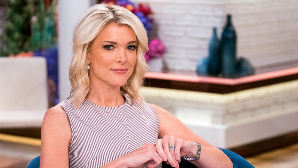 "In this Sept. 21, 2017 file photo, Megyn Kelly poses on the set of her new show, ""Megyn Kelly Today"" at NBC Studios in New York. NBC announced on Friday, Oct. 26, 2018 that ""Megyn Kelly Today"" will not return."
