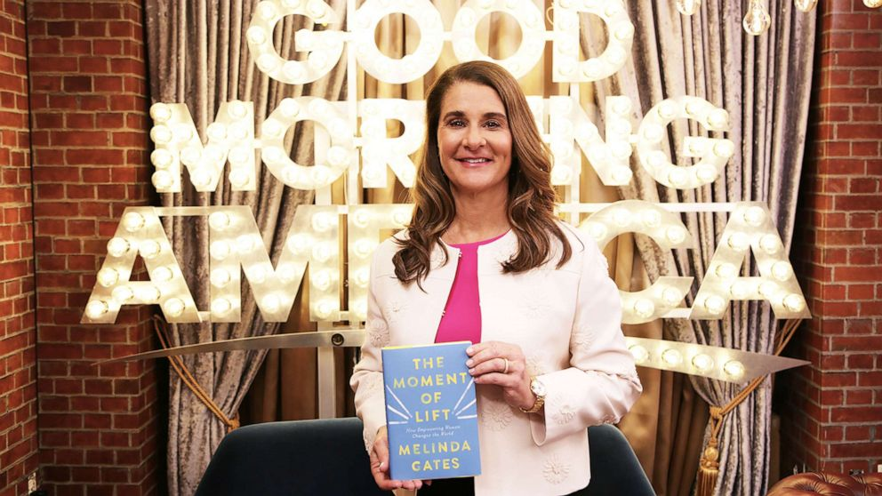 PHOTO: Melinda Gates new book, The Moment of Lift, looks at the women and girls who have made her the woman she is today.
