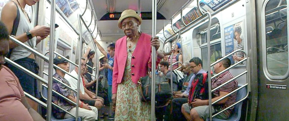 PHOTO: Dr. Melissa Freeman rides the subway to her private practice in Harlem, New York.