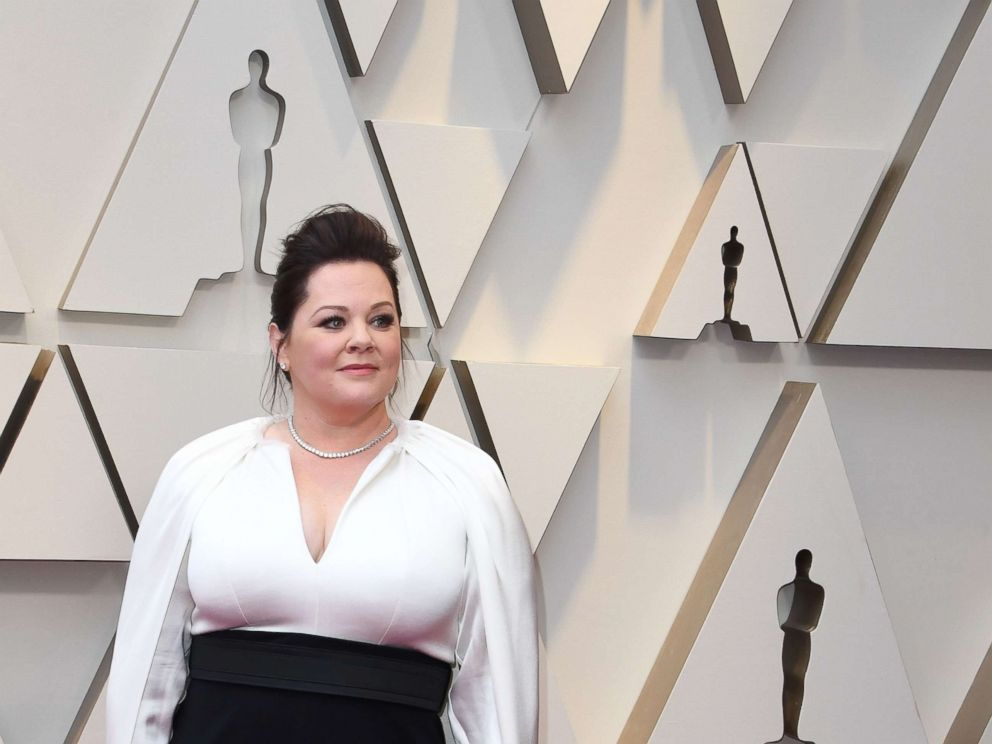PHOTO: Melissa McCarthy arrives for the 91st Annual Academy Awards at the Dolby Theatre in Hollywood, Calif., Feb. 24, 2019.