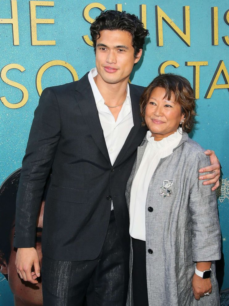 PHOTO: Charles Melton and Sukyong Melton attend the World Premiere Of Warner Bros The Sun Is Also A Star, May 13, 2019. in Los Angeles.