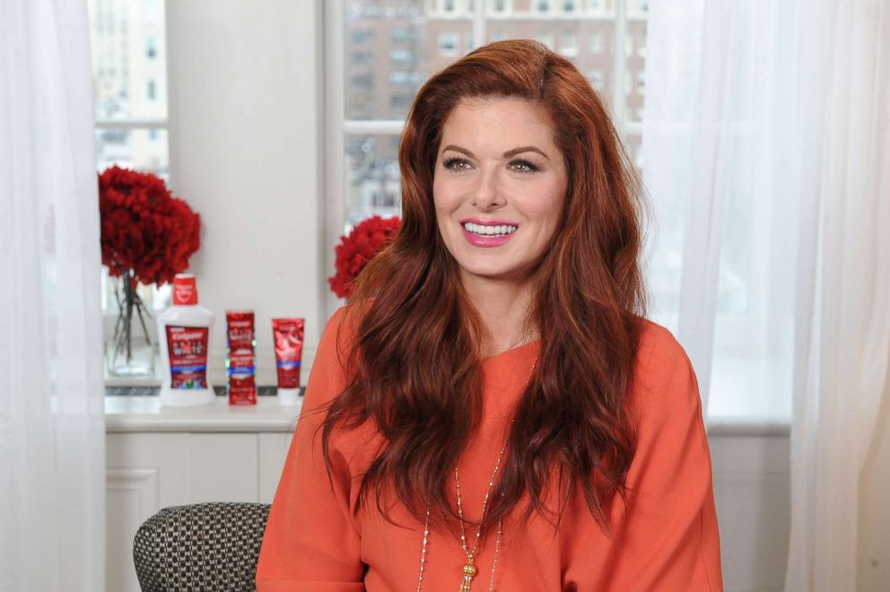 PHOTO: Debra Messing at a Colgate Optic White press event.