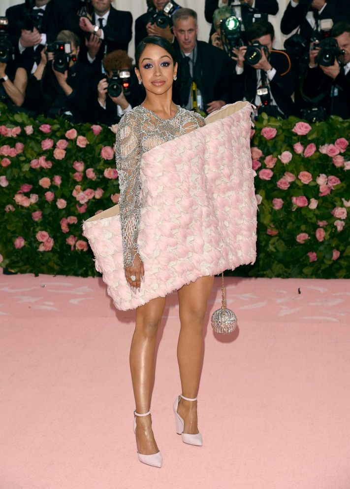 PHOTO: Liza Koshy attends The Metropolitan Museum of Arts Costume Institute benefit gala celebrating the opening of the Camp: Notes on Fashion exhibition, May 6, 2019, in New York.