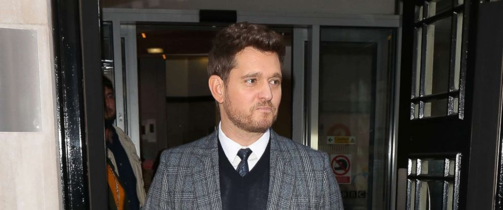 PHOTO: Michael Buble in London, Sept. 28, 2018.