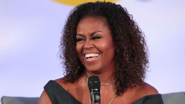 Twitter loves Michelle Obama's natural curls at Obama Foundation Summit