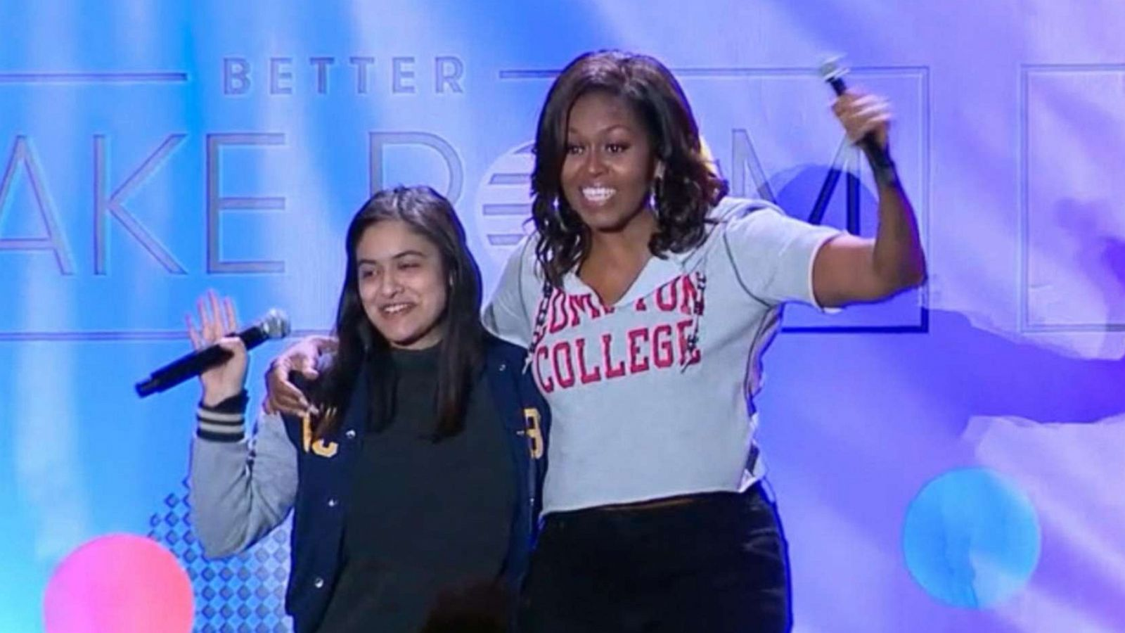 Candid Hd First Day Of School michelle obama delivers inspiring message to students on