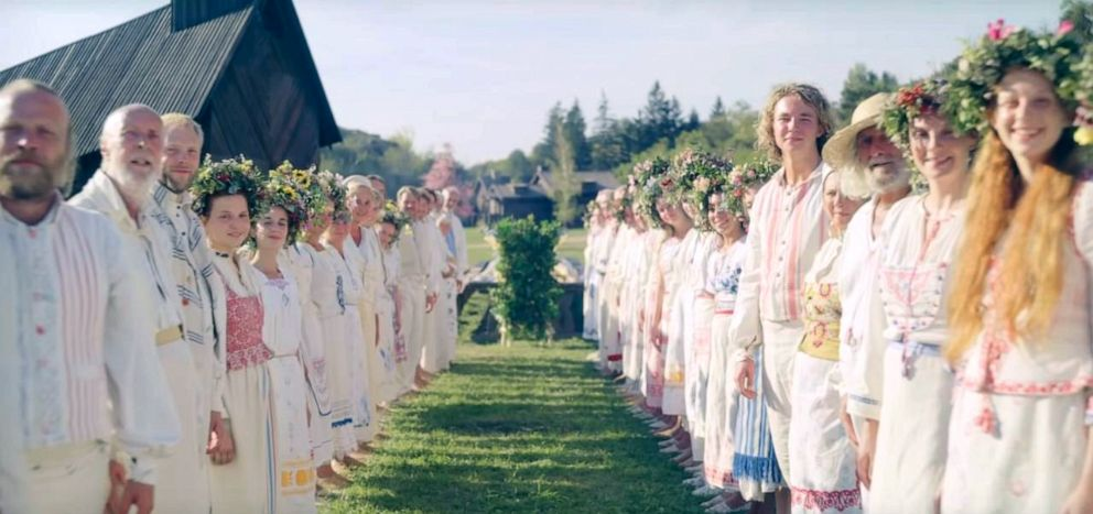 PHOTO: A scene from Midsommar.