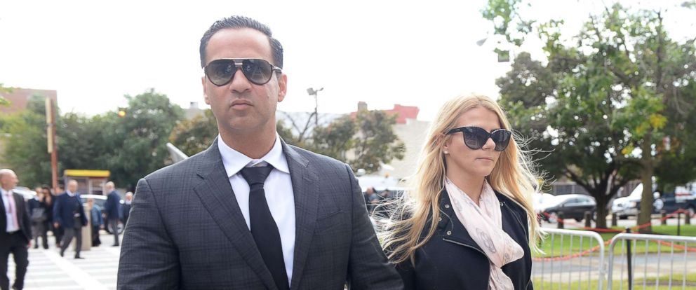 PHOTO: Mike Sorrentino is photographed arriving at court in Newark, N.J., Oct. 5, 2018.