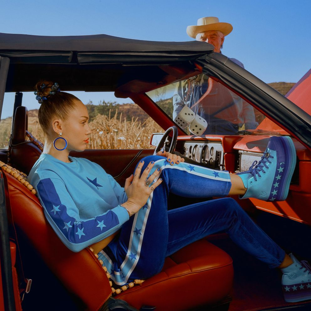 c541a92e9610 Converse and Miley Cyrus reveal their latest collaboration together ...