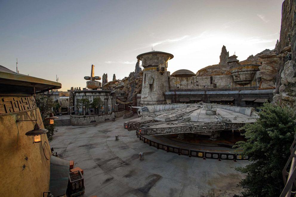PHOTO: Star Wars: Galaxys Edge at Disneyland Park in Anaheim, Calif., and at Disneys Hollywood Studios in Lake Buena Vista, Fla.
