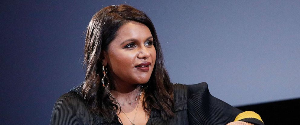 PHOTO: Mindy Kaling appears during the 2019 Montclair Film Festival at the Wellmont Theater on May 4, 2019, in Montclair, N.J.