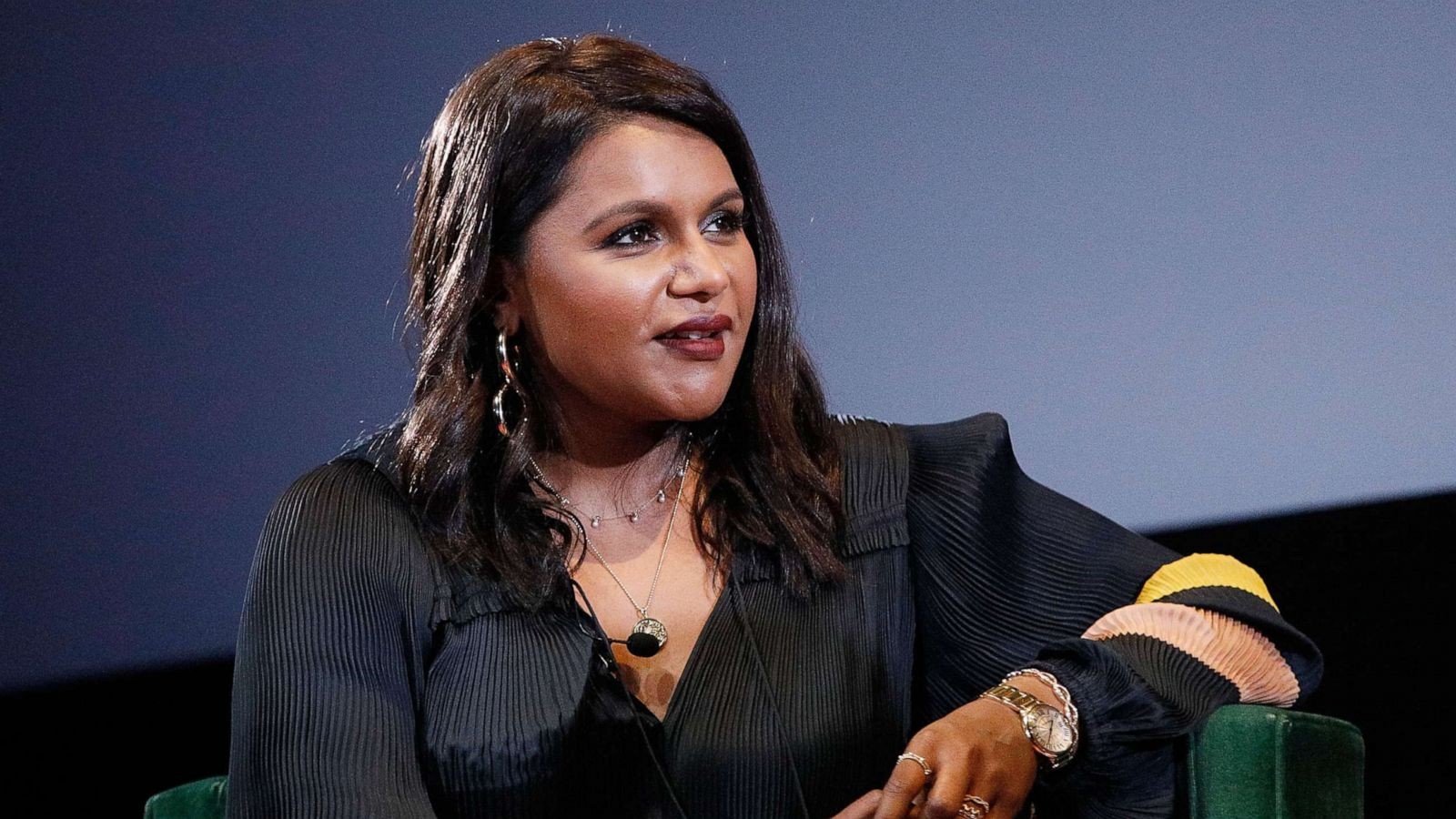 New Mom Mindy Kaling S Advice To Career Driven Women Who Want To Be Mothers Abc News