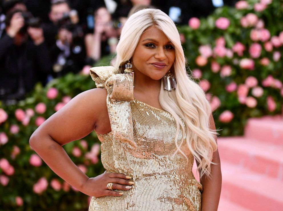 PHOTO:Mindy Kaling attends the Metropolitan Museum of Arts Costume Institute benefit gala celebrating the opening of the Camp: Notes on Fashion exhibition, May 6, 2019, in New York.