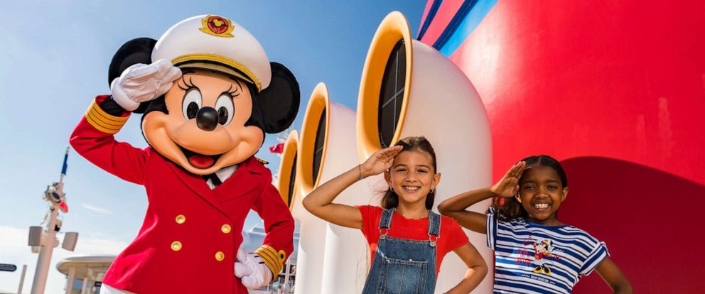 "PHOTO: Disney Cruise Line is debuting ""Captain Minnie Mouse"" on its ships."