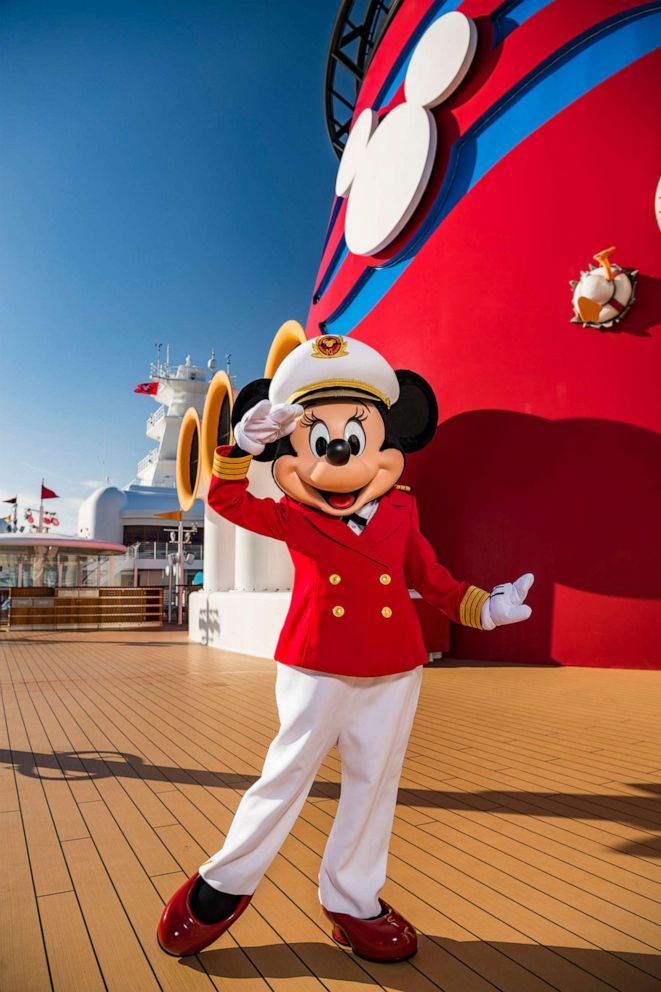 PHOTO: Captain Minnie Mouse is delighting children aboard all Disney Cruise Line ships.