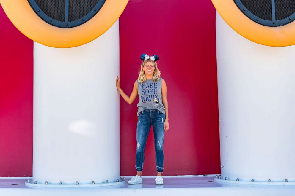 PHOTO: To celebrate the excitement of Captain Minnie Mouse at the helm, Disney Cruise Line unveiled a special line of merchandise exclusive to the Disney fleet.