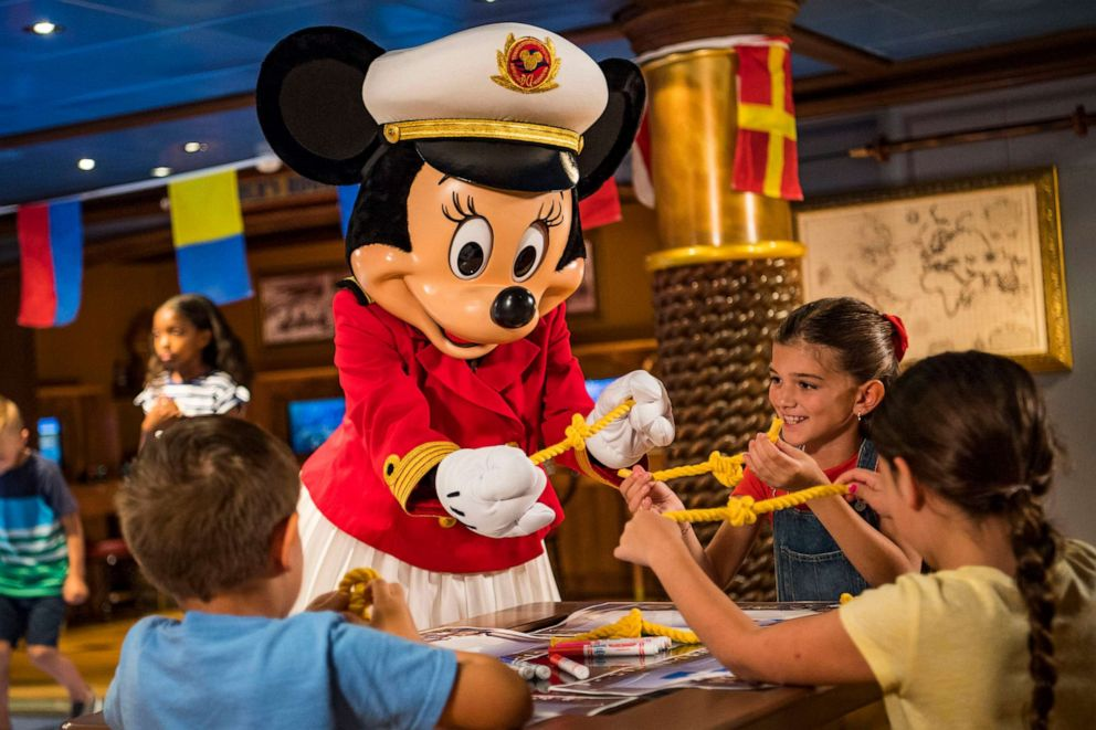 PHOTO: On board Disney Cruise Line ships later this year, Captain Minnie Mouse will appear in an all-new youth activity where young captain hopefuls practice STEM (science, technology, engineering and math) skills.