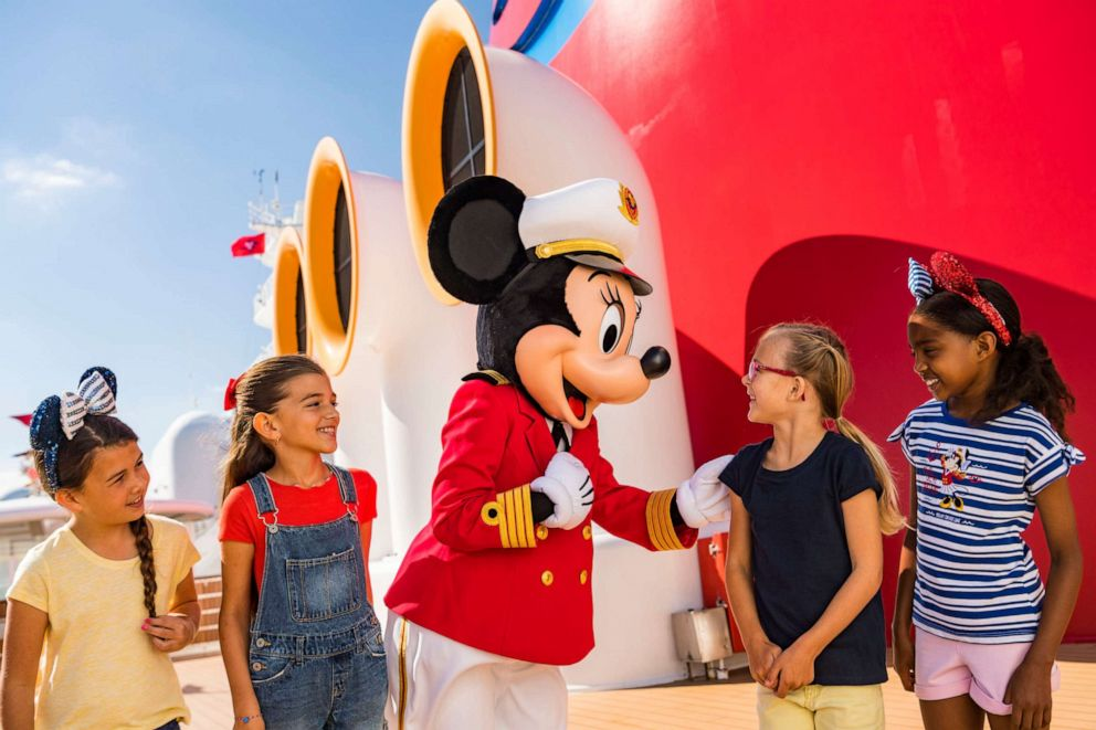 PHOTO: Captain Minnie Mouse will make the rounds on all Disney ships starting in April.