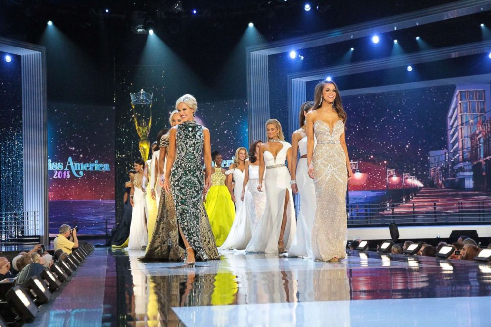 Swimsuit-less Miss America pageant is under way
