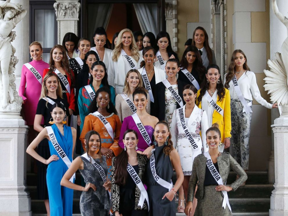 Miss Universe candidates clear up 'misunderstanding' with Miss Cambodia