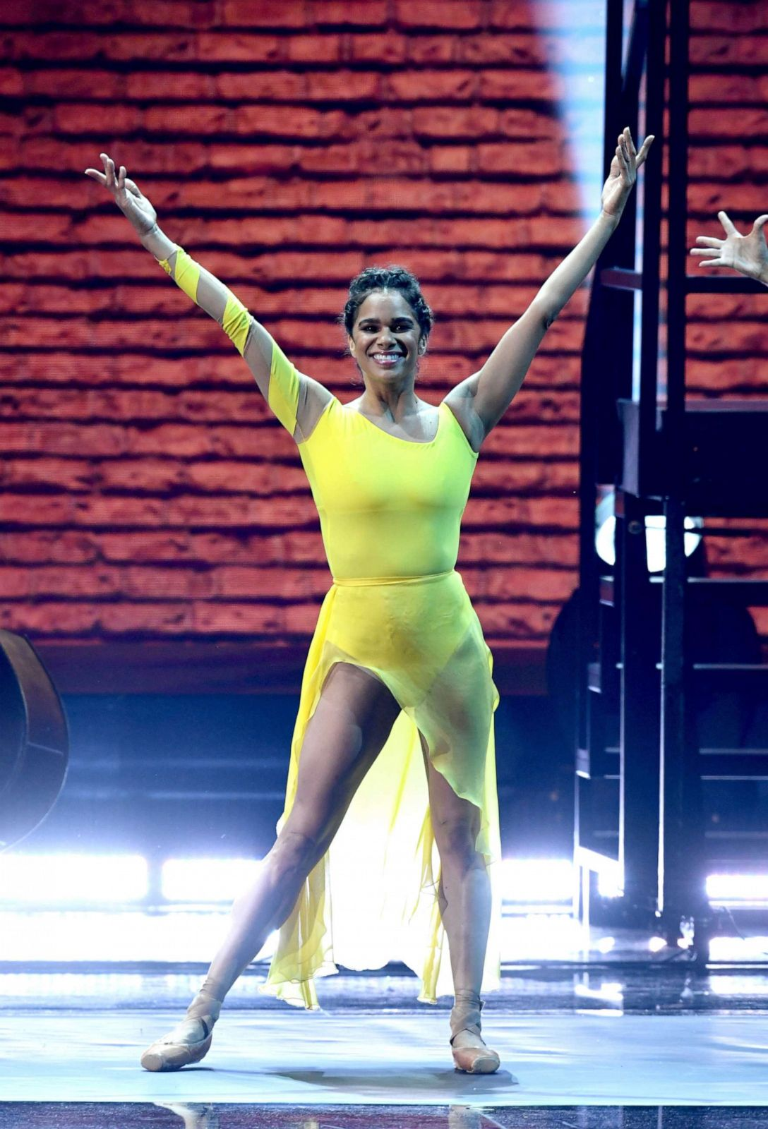 PHOTO: Misty Copeland performs onstage during the 62nd annual Grammy Awards at Staples Center, Jan. 26, 2020, in Los Angeles.
