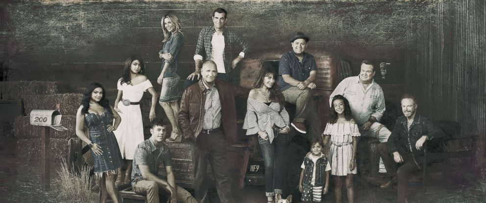 "PHOTO: ABCs ""Modern Family"" cast."