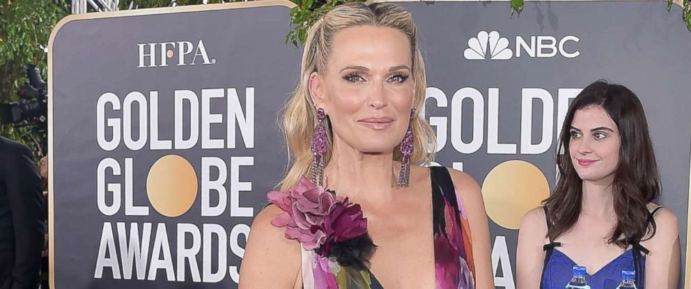 PHOTO: Molly Sims attends the 76th Annual Golden Globe Awards, Jan. 6, 2019, at the Beverly Hilton in Los Angeles.