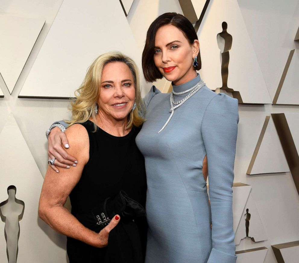 PHOTO: Gerda Moritz and Charlize Theron attend the 91st Annual Academy Awards at Hollywood and Highland, Feb. 24, 2019, in Hollywood, Calif.