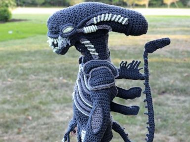 Mom Crochets The Most Epic Halloween Costumes For Her Boys Gma