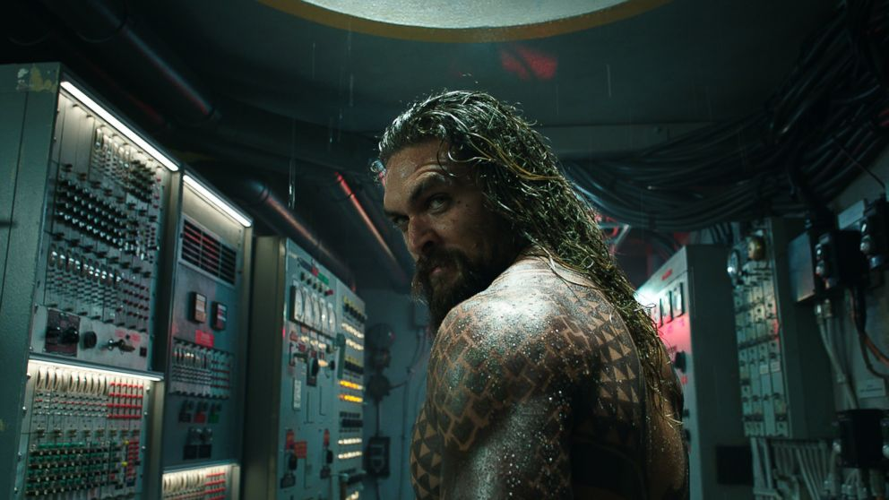 PHOTO: Jason Momoa in Aquaman, 2018.