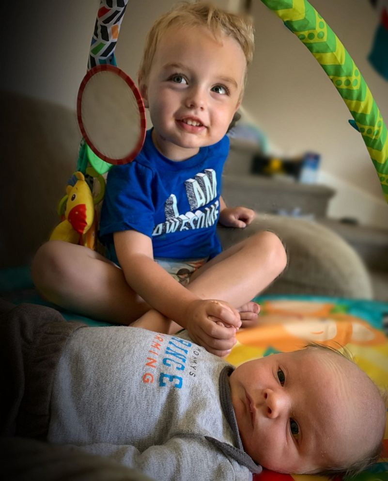 PHOTO: Madison Holley of Corunna, Ontario, is mom to 3-year-old Cade and 2-month-old Waylon.