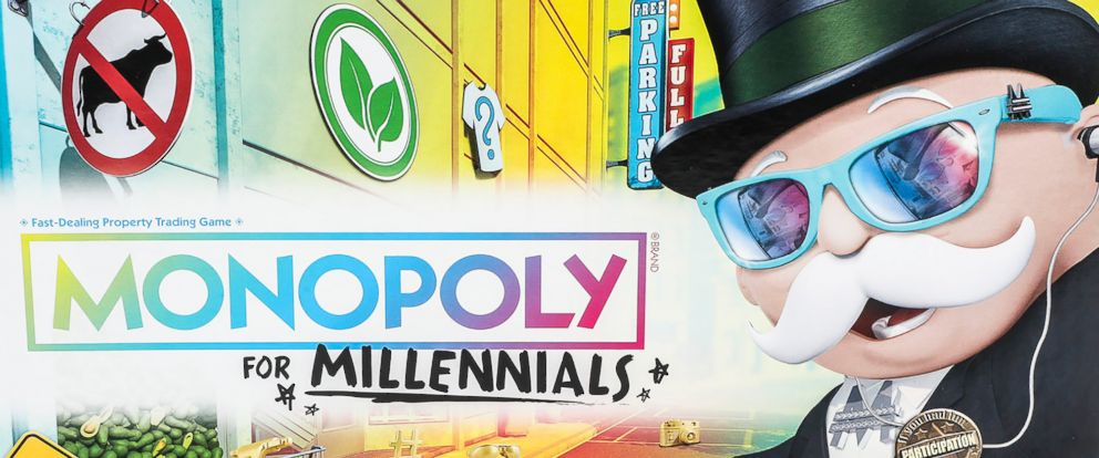 PHOTO: The Monopoly for Millennials Board Game is listed for purchase on Walmarts website.