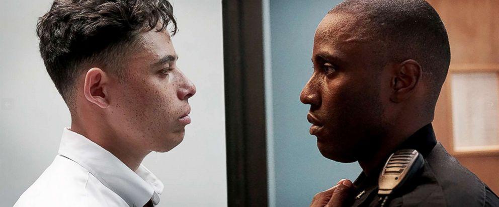 PHOTO: John David Washington and Anthony Ramos in Monsters and Men.