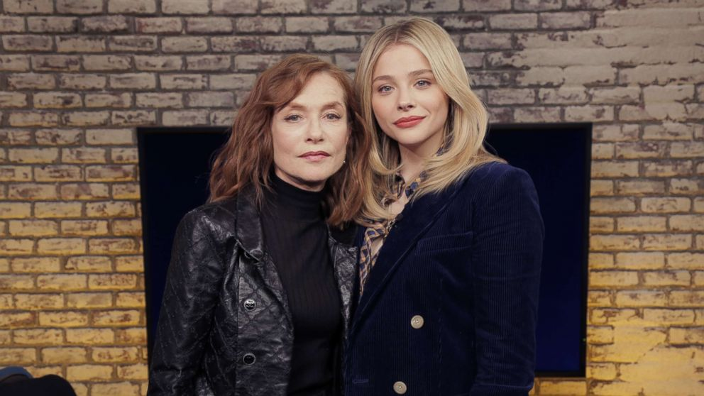 Isabelle Huppert stayed in character while filming 'Greta,' scared wits out of Chloe Gracë Moretz