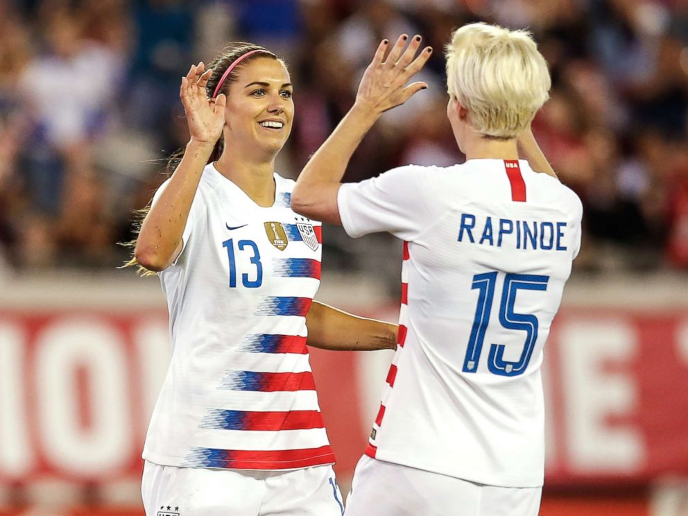the latest 49c5e d144f US soccer players speak out on equal pay suit, inspiring ...
