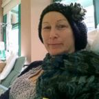 Morganne Delain undergoing chemotherapy in 2013.