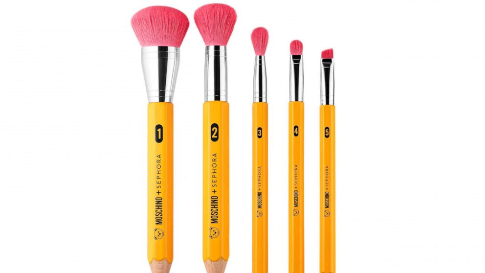 Moschino and Sephora's new office supply-themed makeup will leave you feeling bossy