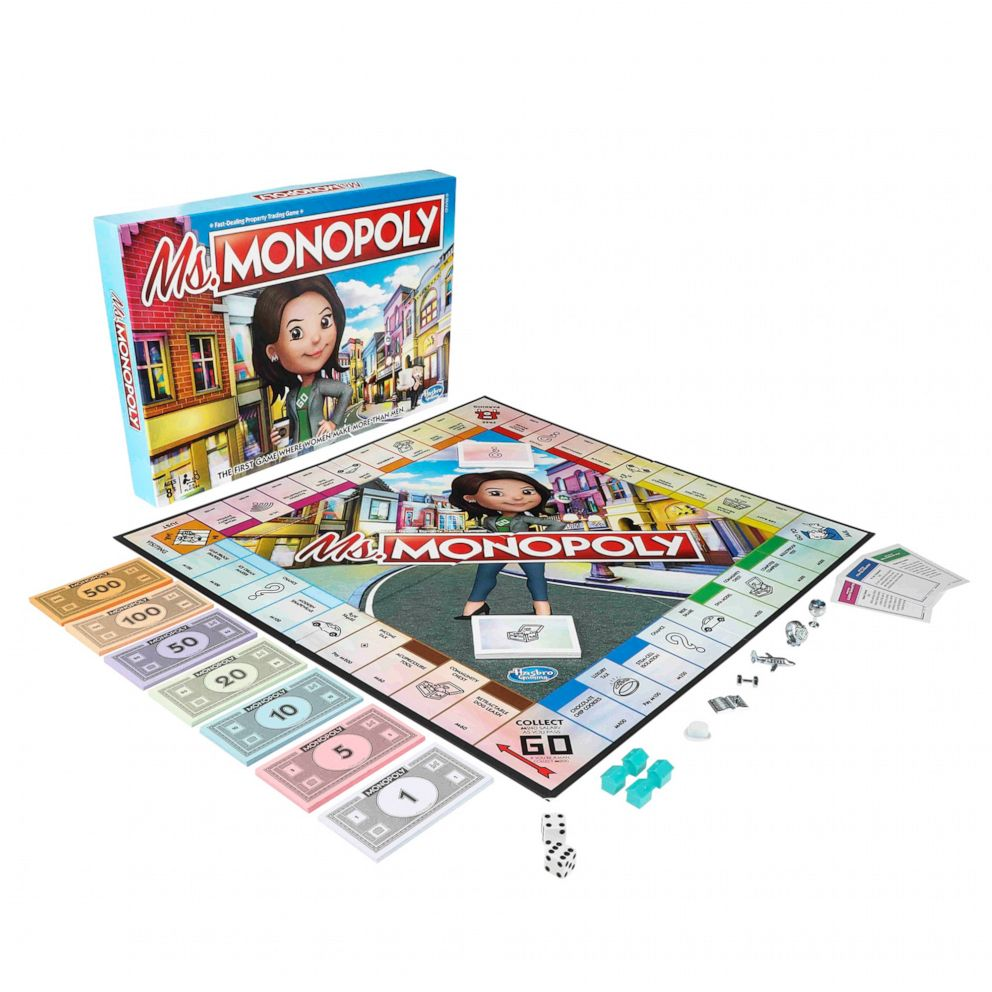 PHOTO: The board game, titled Ms. Monopoly, celebrates inventors and aims to invest in these inspiring women across the globe.