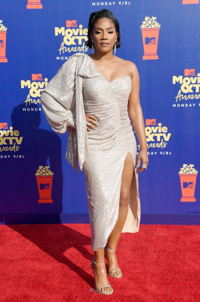 PHOTO: Tiffany Haddish attends the 2019 MTV Movie and TV Awards on June 15, 2019 in Santa Monica, Calif.