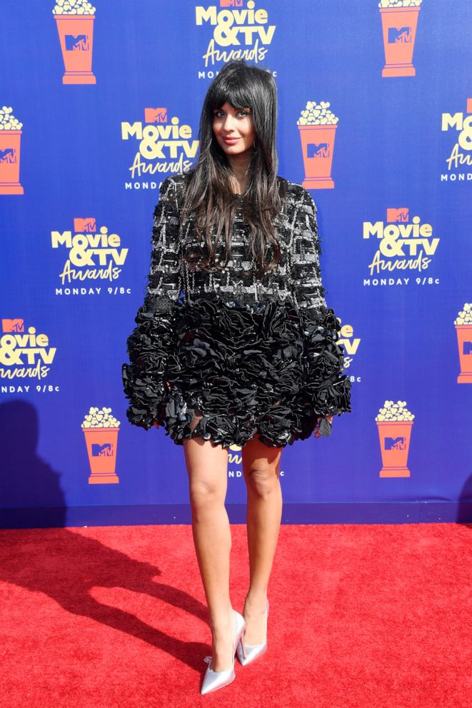 PHOTO: Jameela Jamil attends the 2019 MTV Movie and TV Awards on June 15, 2019 in Santa Monica, Calif.