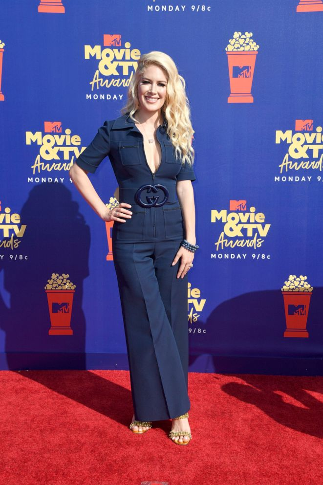 PHOTO: Heidi Montag attends the 2019 MTV Movie and TV Awards on June 15, 2019, in Santa Monica, Calif.