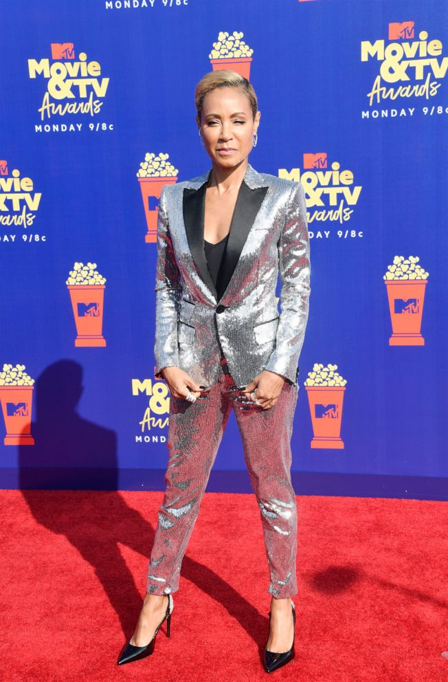PHOTO: Jada Pinkett Smith attends the 2019 MTV Movie and TV Awards on June 15, 2019 in Santa Monica, Calif.