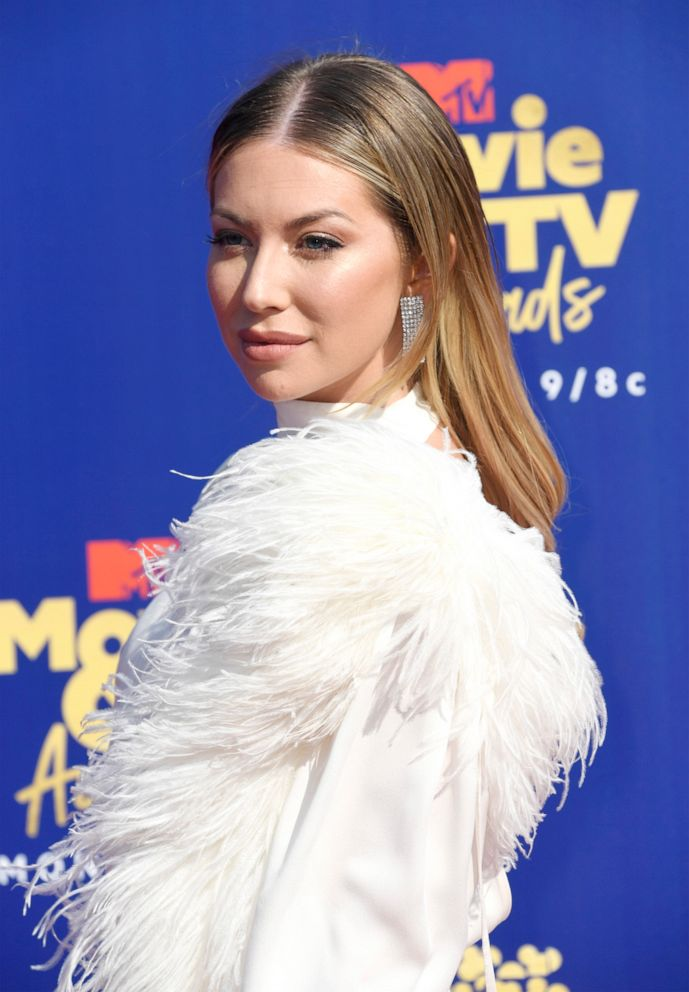 PHOTO: Stassi Schroeder attends the 2019 MTV Movie and TV Awards on June 15, 2019, in Santa Monica, Calif.