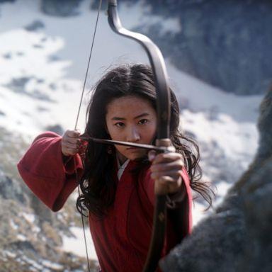 "PHOTO: Yifei Liu stars in Disney's live action film, ""Mulan,"" releasing in 2020."