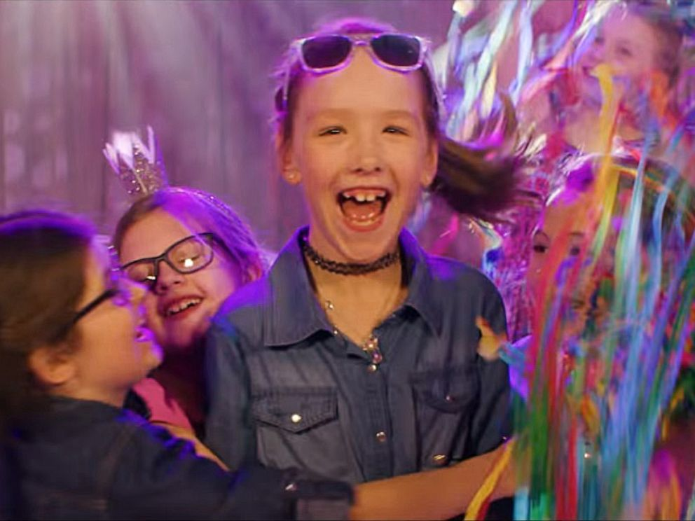 PHOTO: Ashlin Sanders, 7, made a wish with Make-A-Wish Wisconsin to appear in her own Kidz Bop music video that goes viral, after she was diagnosed with end stage renal disease.